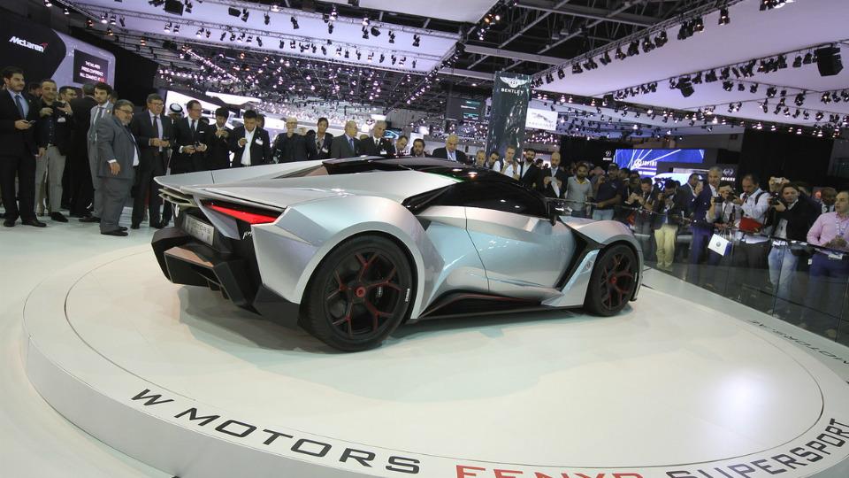 В Дубае дебютировало 900-сильное купе Fenyr SuperSport от фирмы W Motors