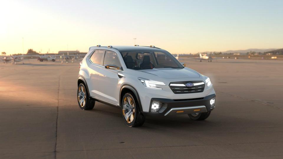 В Subaru назвали сроки появления нового трехрядного вседорожника