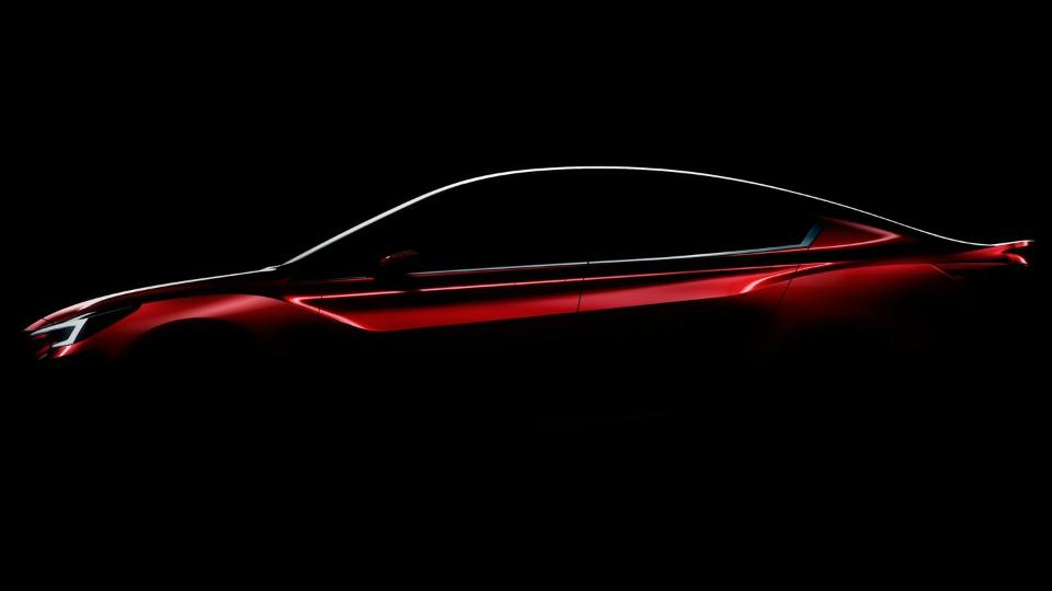 Предвестник нового седана Subaru Impreza дебютирует в Лос-Анджелесе