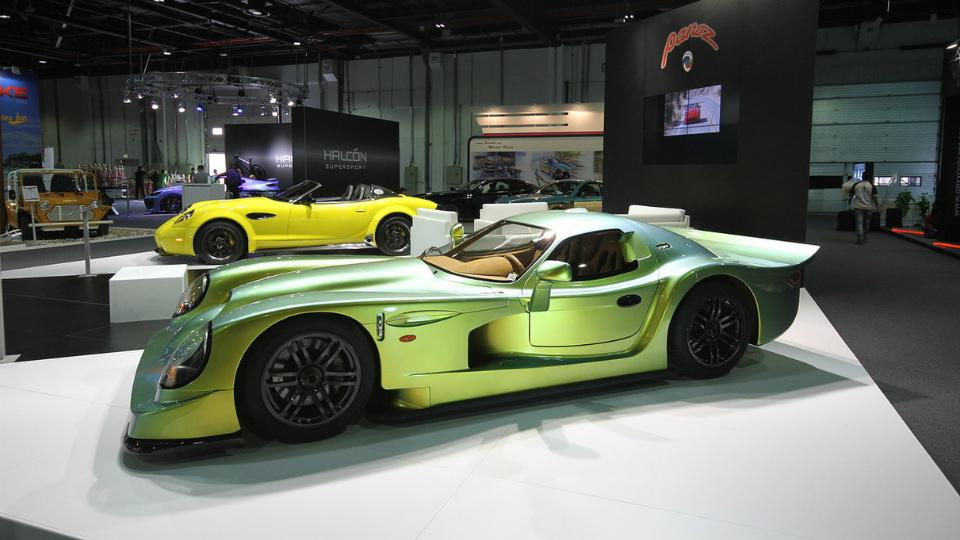 Производитель спорткаров Panoz отреставрировал уникальную машину
