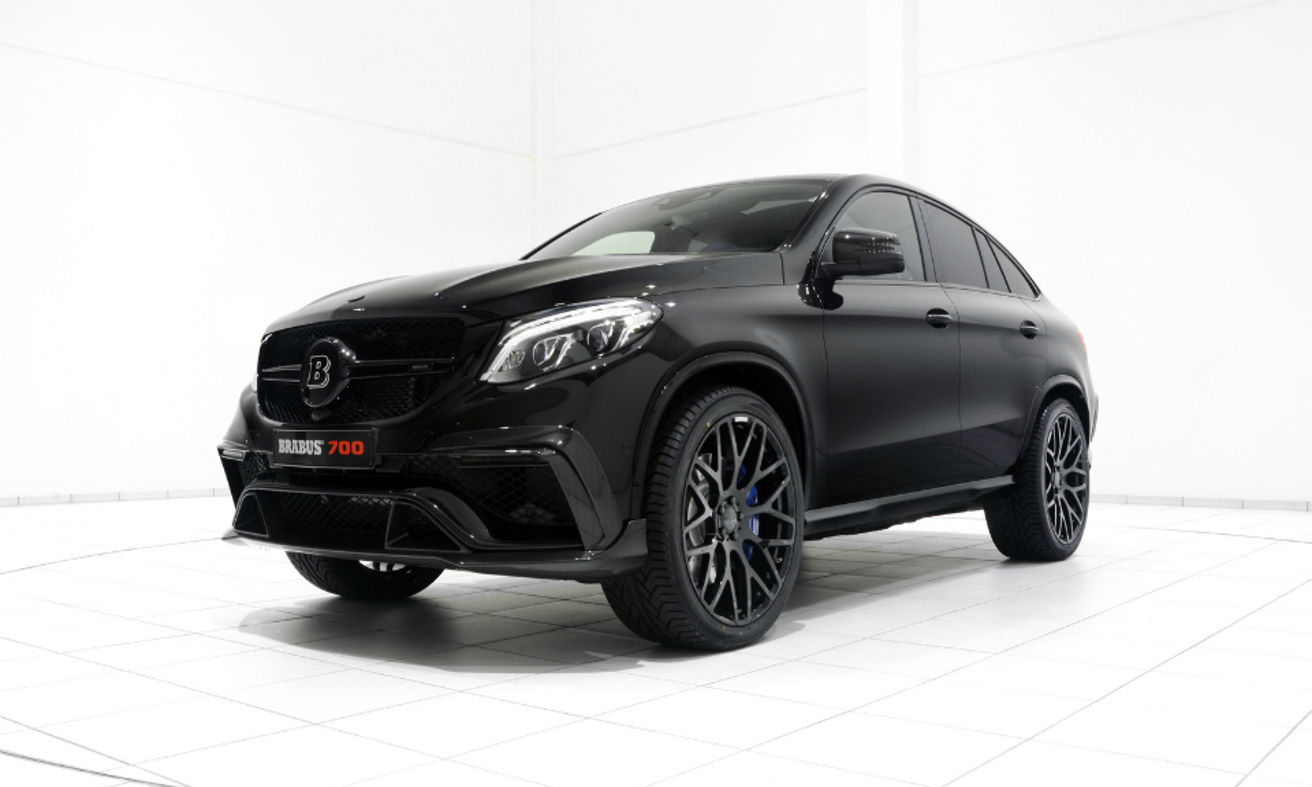 Brabus построил 700-сильный Mercedes-Benz GLE Coupe