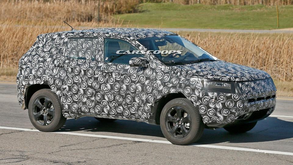 Jeep начал испытания замены моделей Compass и Patriot