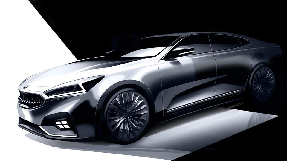 Kia начала готовить седан Cadenza к смене поколения