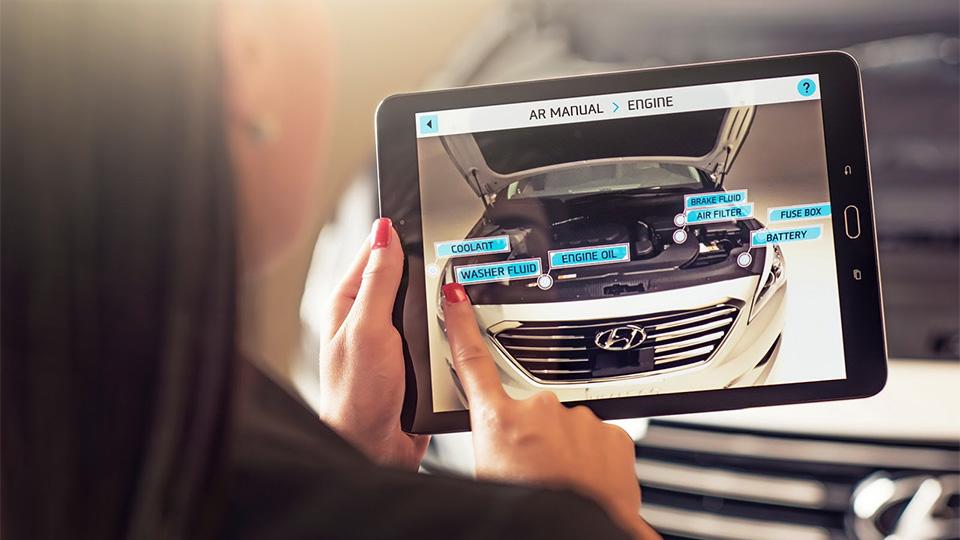 Компания Hyundai научит планшеты и смартфоны рассказывать о работе машин