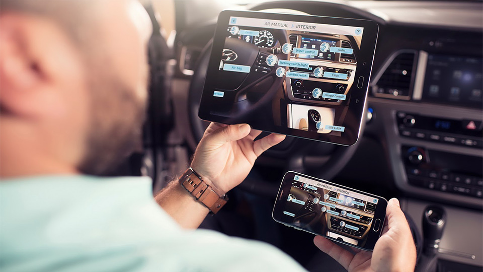 Компания Hyundai научит планшеты и смартфоны рассказывать о работе машин. Фото 1