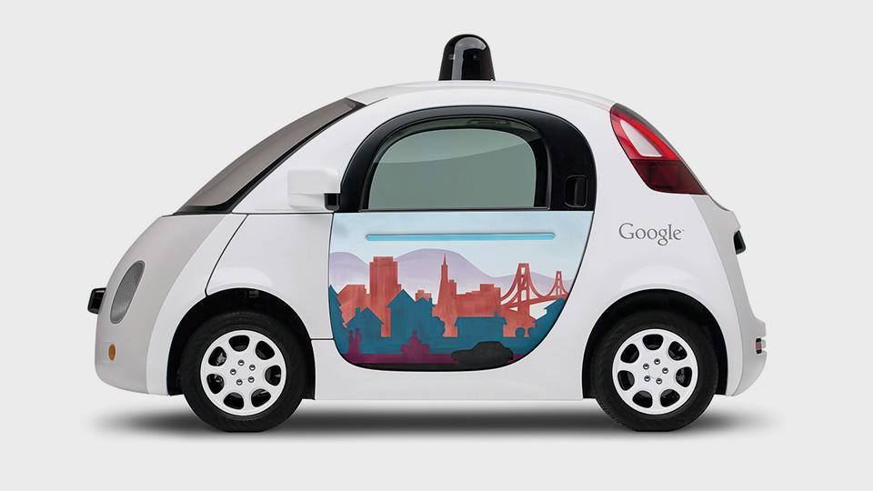 Художники превратили двери машин Google в картины