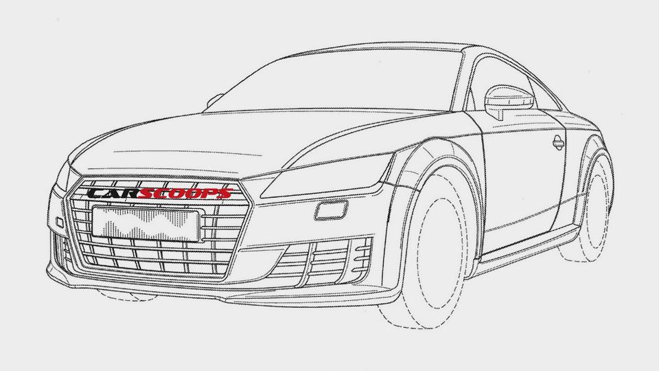 Компания Audi запатентовала дизайн самой мощной версии TT