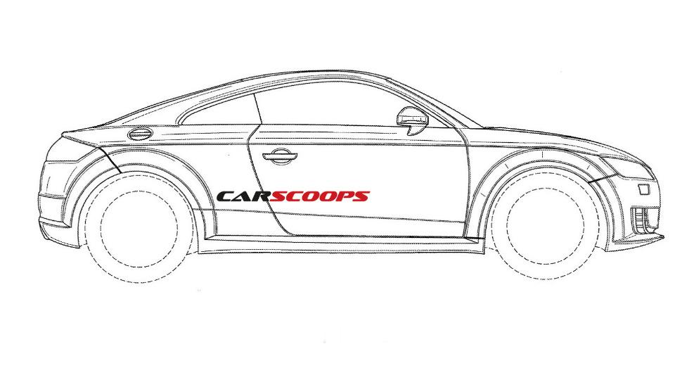 Audi TT RS нового поколения дебютирует в 2016 году на Женевском автосалоне. Фото 1