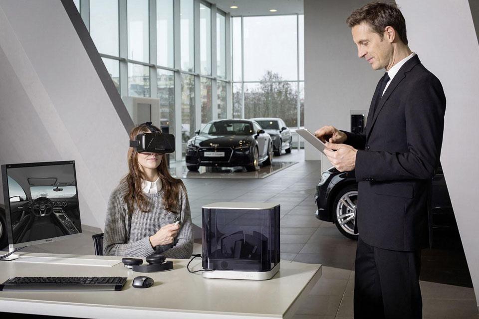 Как автопроизводители смешивают реальное с виртуальным. Фото 4