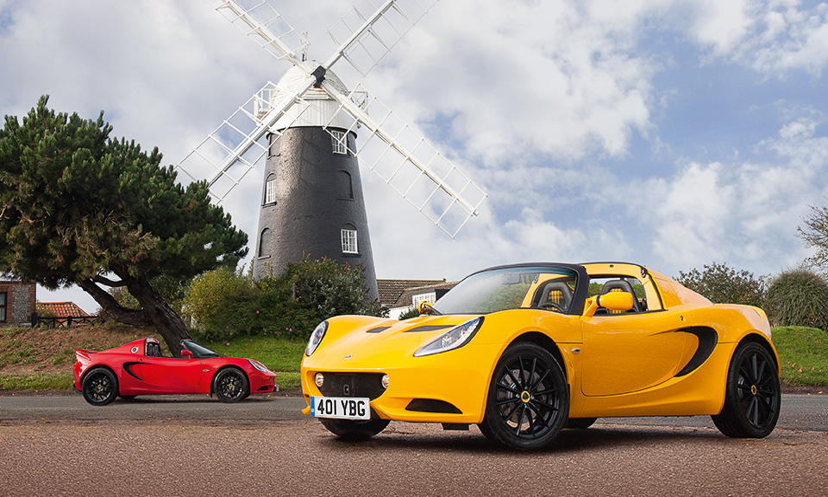 Lotus Elise стал на 10 килограммов легче