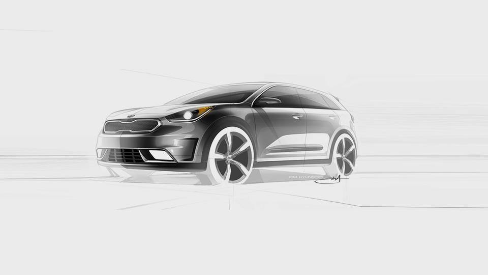 Kia показала дизайн гибридного вседорожника