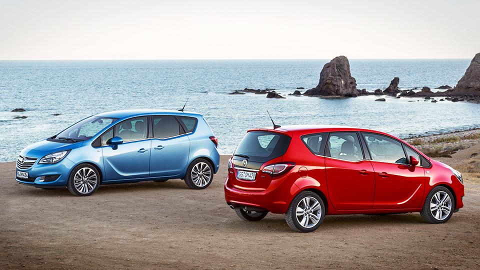 Opel в 16 раз сократил число отзываемых в России компактвэнов Meriva