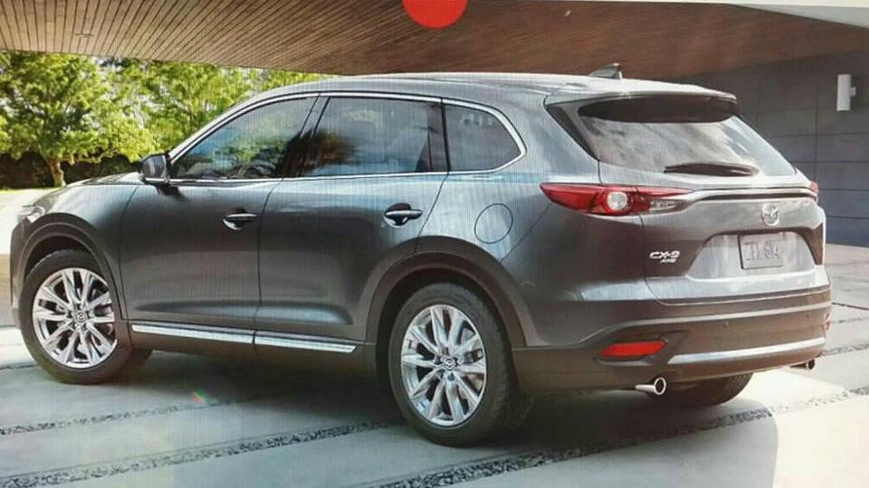 Появились первые снимки Mazda CX-9 нового поколения