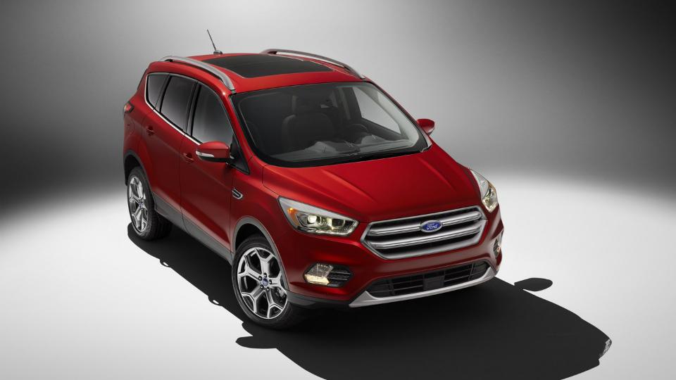 Ford обновил вседорожник Escape