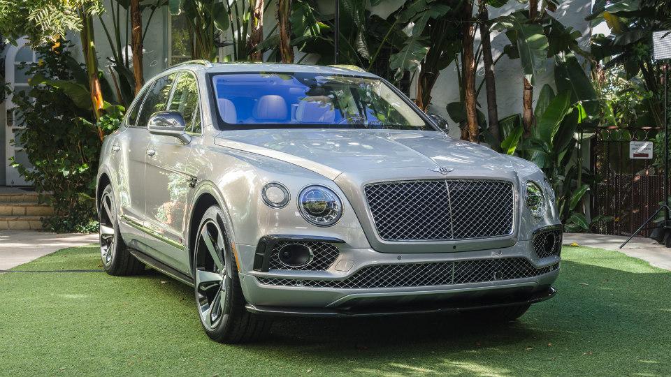 Компания Bentley показала первую спецверсию Bentayga