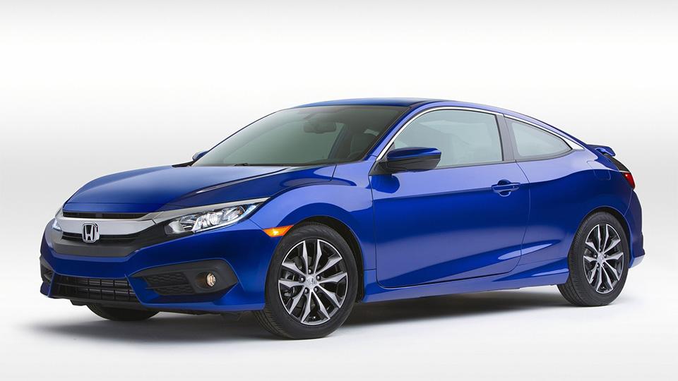 Купе Honda Civic впервые получило турбомотор