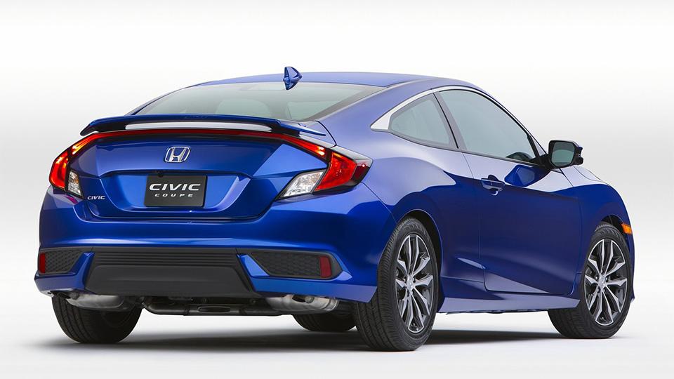 Компания Honda представила двухдверный «Сивик» нового поколения. Фото 1