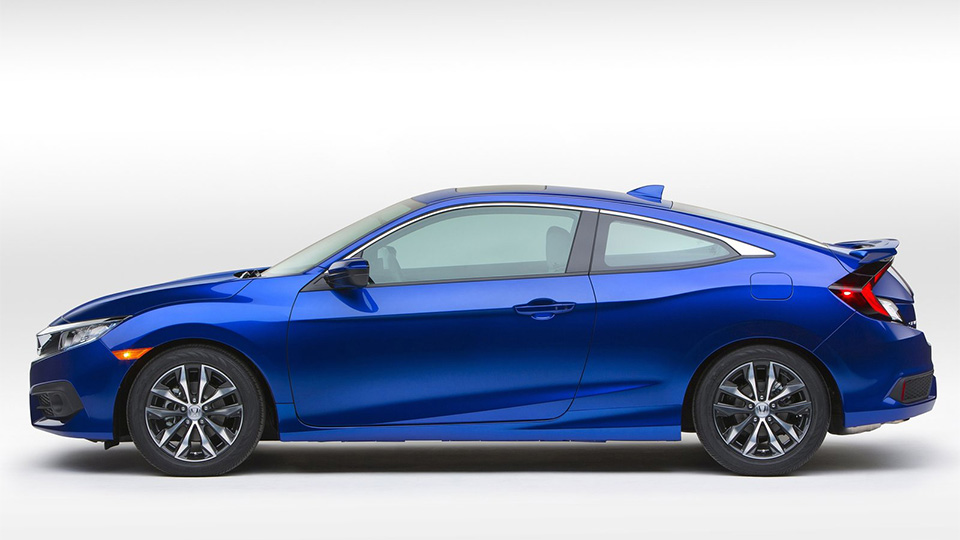 Компания Honda представила двухдверный «Сивик» нового поколения