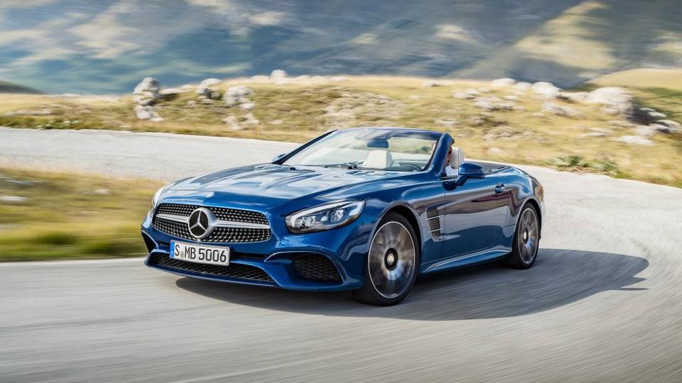 Родстер Mercedes-Benz SL стал быстрее