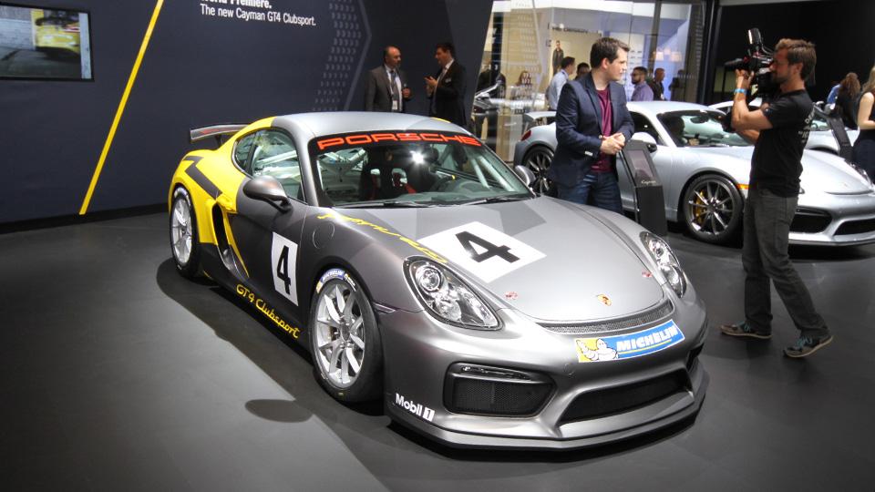 Быстрейший Porsche Cayman подготовили для гонок