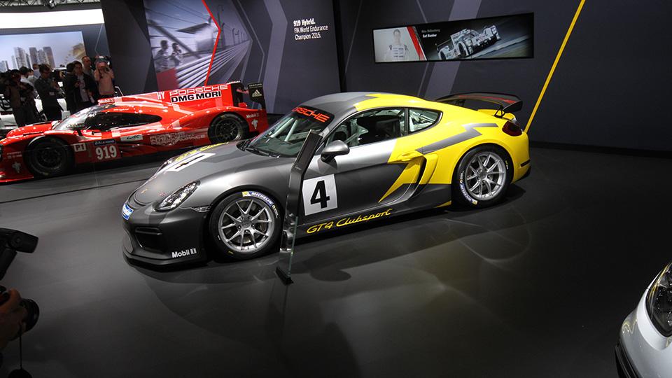 Представлен трековый спорткар Porsche Cayman GT4 Clubsport. Фото 1
