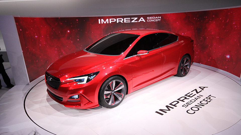Subaru показала предвестника новой четырехдверной «Импрезы»