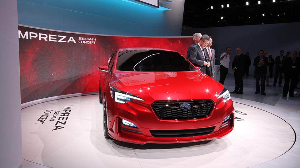Японцы представили второй прототип Impreza за месяц