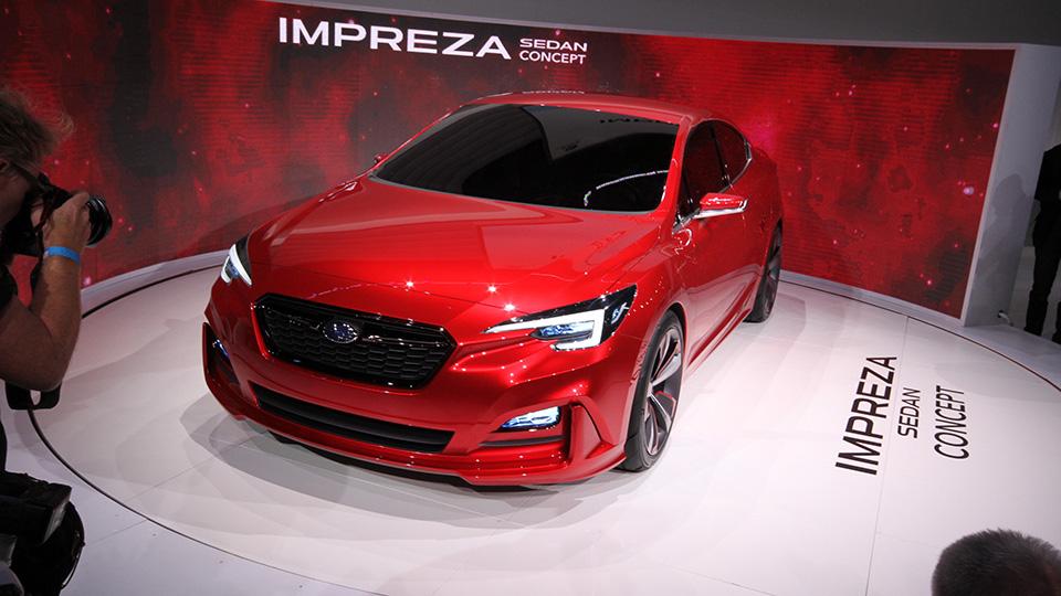 Японцы представили второй прототип Impreza за месяц. Фото 1