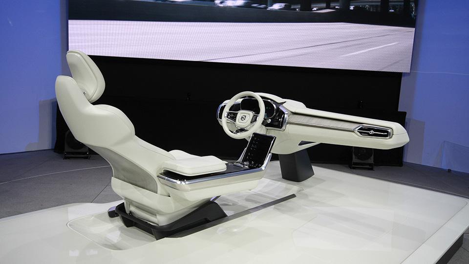 Компания Volvo создала интерьер для беспилотников