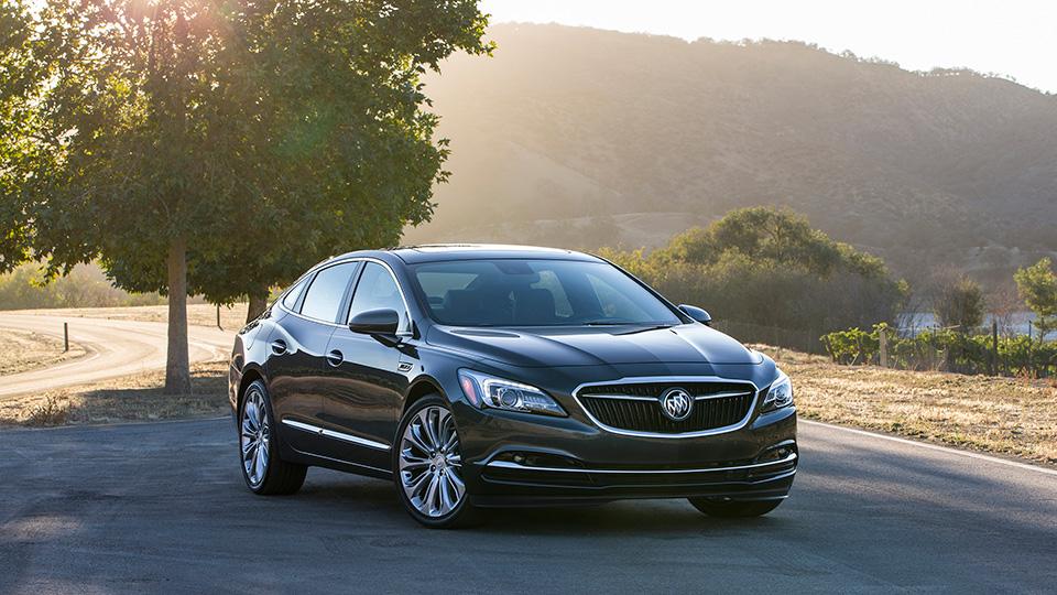 Флагманский седан Buick сменил поколение