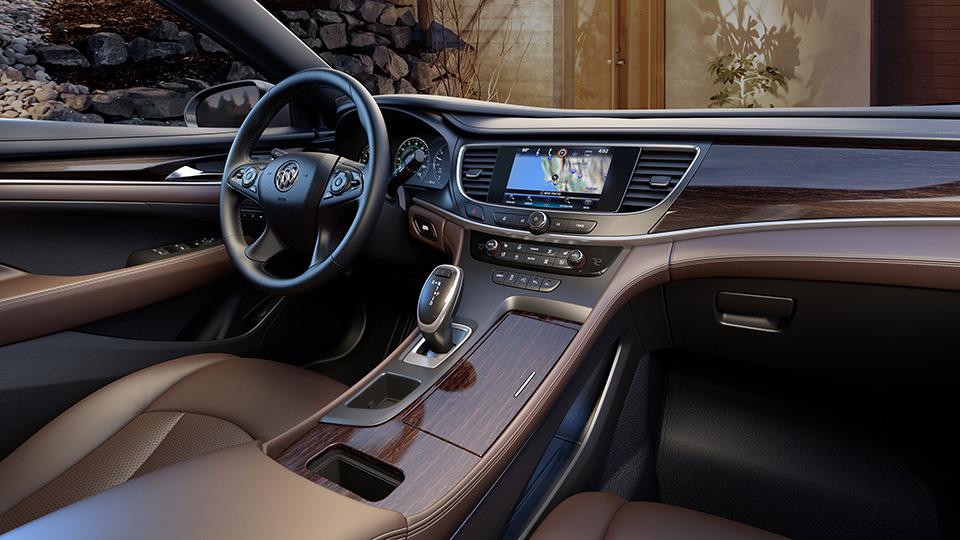 Buick LaCrosse получил новую систему полного привода