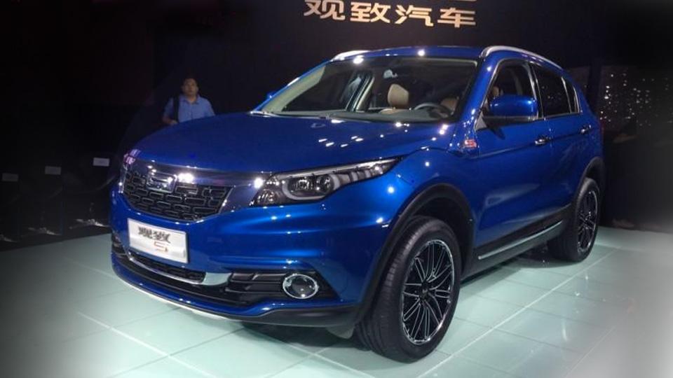 Названы характеристики новой модели китайской марки Qoros