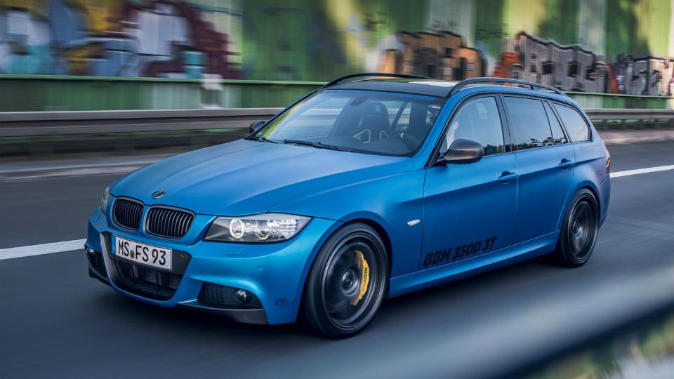 «Трешку» BMW оснастили 440-сильным дизелем от «пятерки»