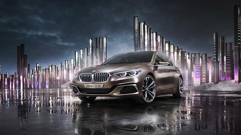 Компания BMW показала предвестника компактного седана