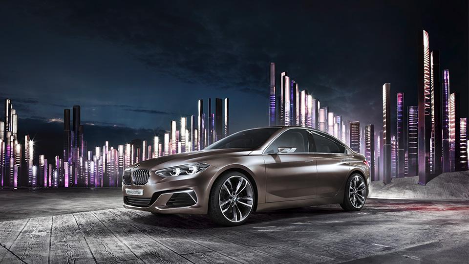 Немцы представили прототип Concept Compact Sedan. Фото 1