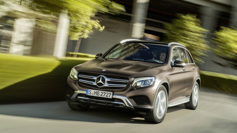 Кроссовер Mercedes-Benz GLC станет водородным