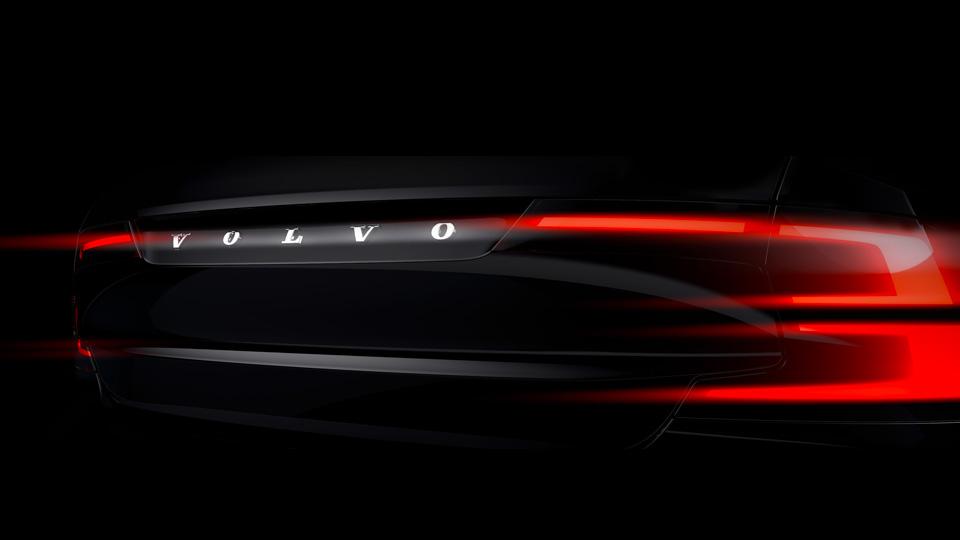 Volvo поделилась первыми тизерами нового флагмана