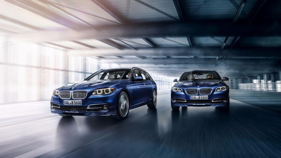 «Альпина» добавила мощности универсалу и седану BMW 5-Series