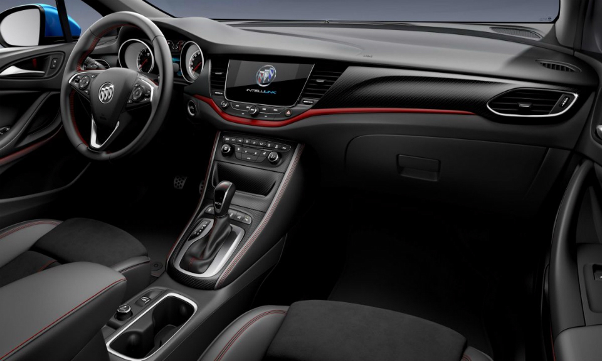 На выставке в Гуанчжоу показали новый Buick Verano GS