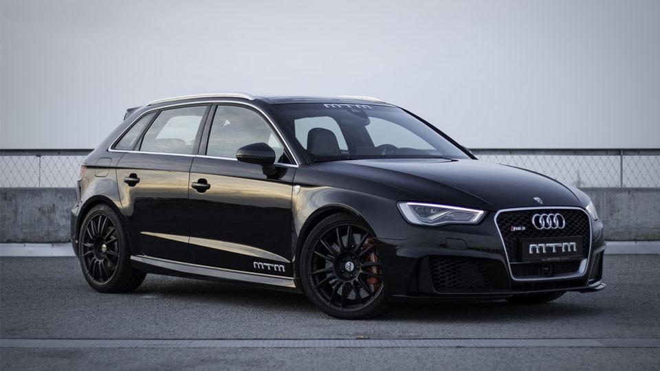 Тюнинг-ателье MTM сделало хот-хэтч Audi RS3 500-сильным