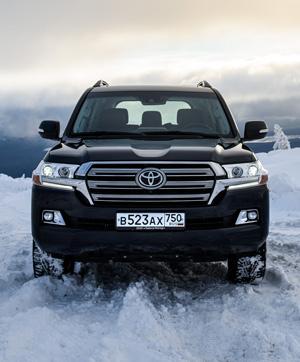 Испытываем обновленный Toyota Land Cruiser 200 снегами Северного Урала