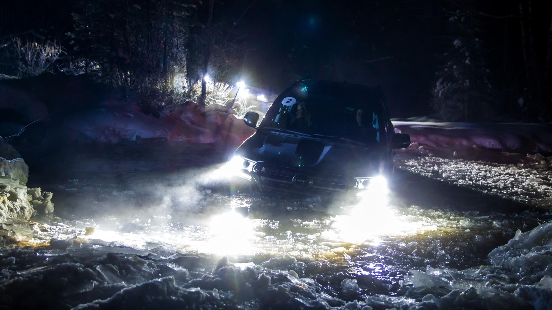 Испытываем обновленный Toyota Land Cruiser 200 снегами Северного Урала. Фото 4