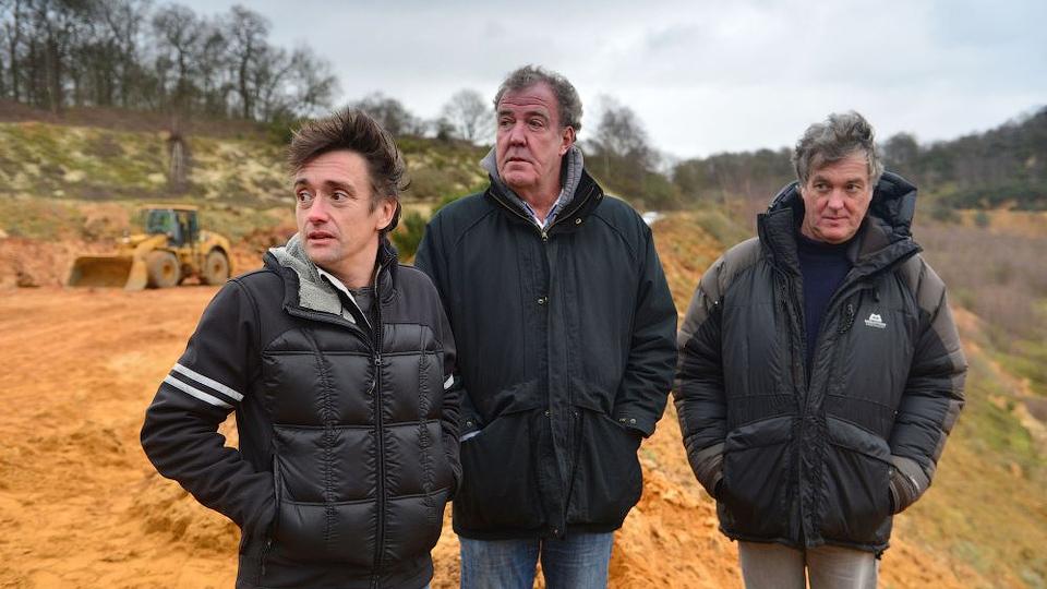BBC покажет спецвыпуск Top Gear с Кларксоном, Хаммондом и Мэем