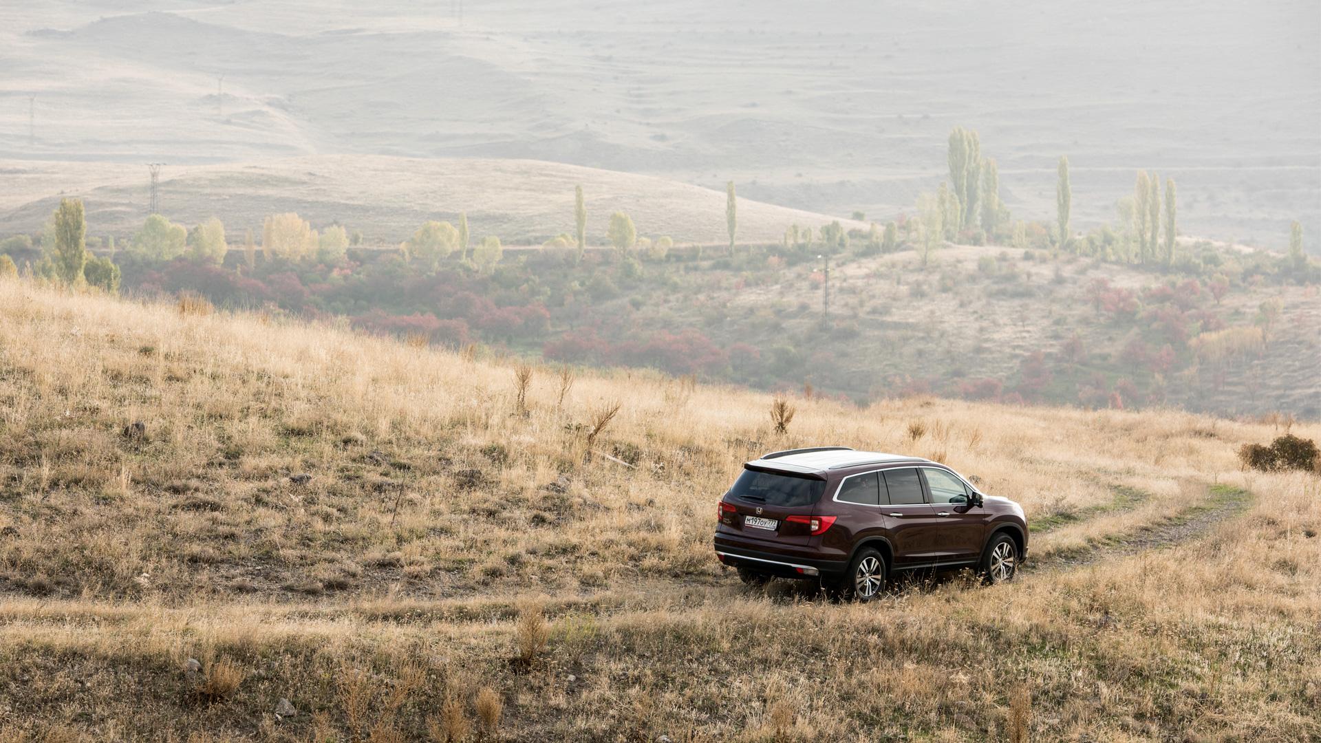 Прежде чем уйти с российского рынка, «Хонда» выкатила новый Pilot. Фото 6