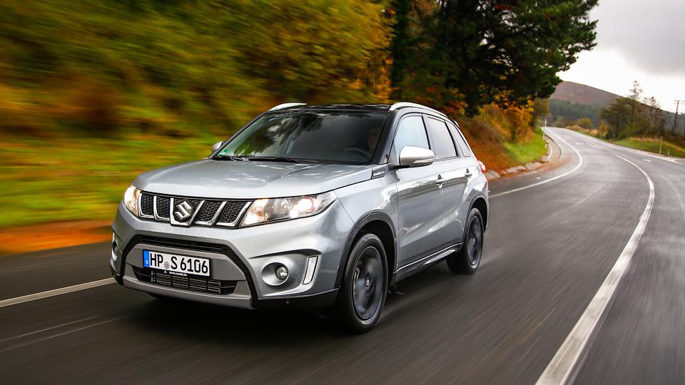 Suzuki привезет в Россию «заряженную» «Витару»