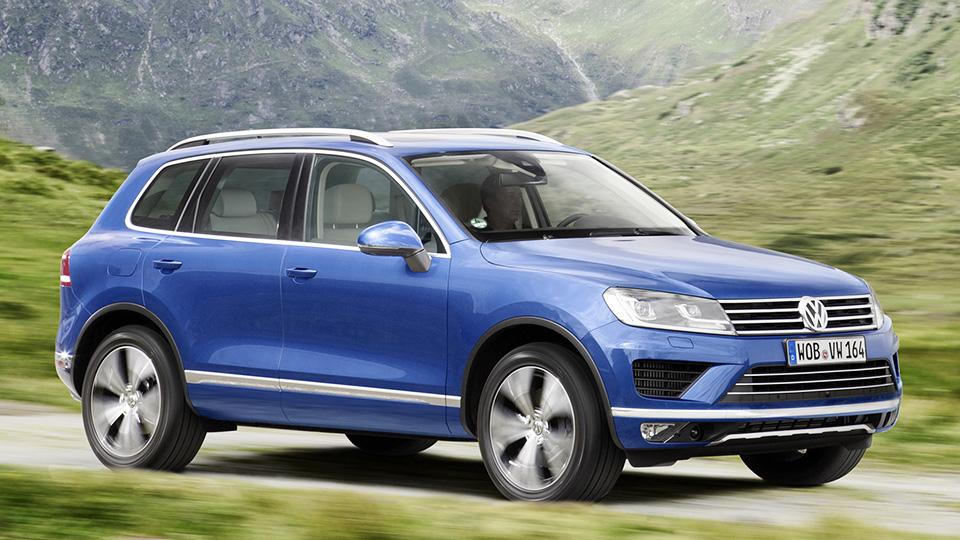 Volkswagen отзовет в России четыре тысячи внедорожников Touareg