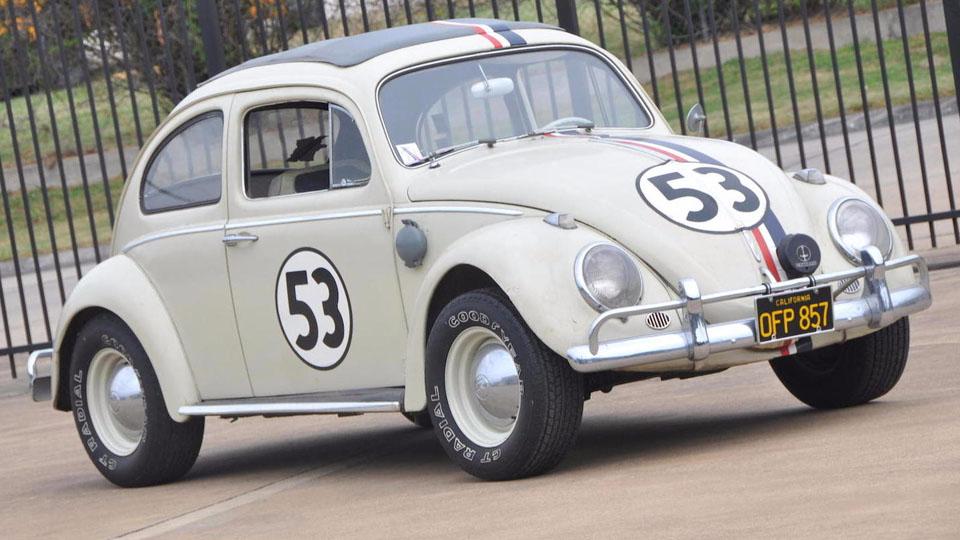 «Одушевленный» VW Beetle из фильма продали за 86 тысяч долларов