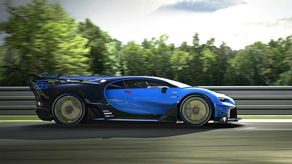 Bugatti Chiron ������ ����� ������� � ��������� ������� � ����. ���� 2