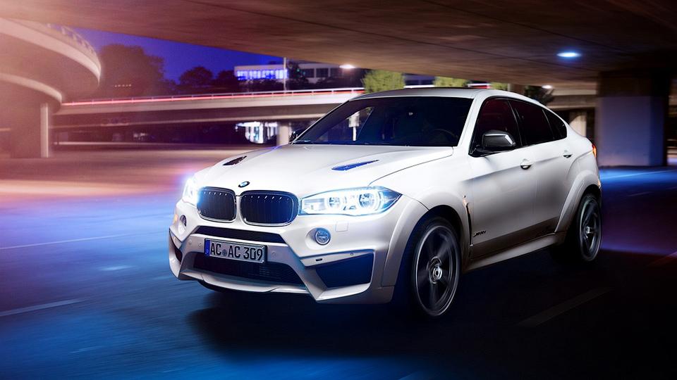 Ателье AC Schnitzer подготовило свой вариант BMW X6