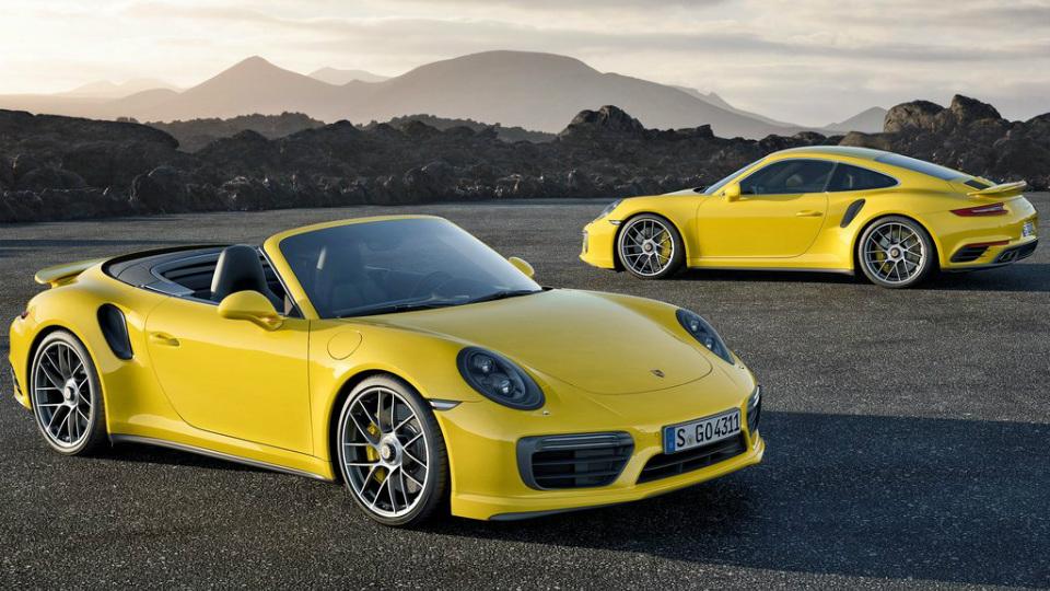 Представлены рестайлинговые суперкары 911 Turbo и 911 Turbo S